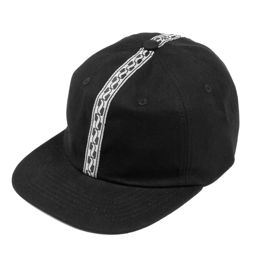Pass-Port Auto Ribbon 6 Panel Cap - Black