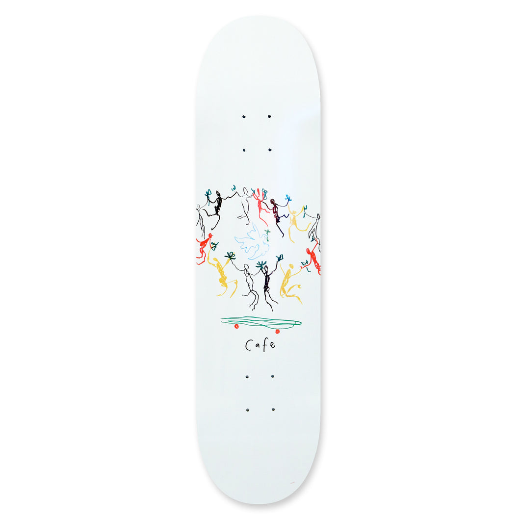 Skateboard Cafe Peace Skateboard Deck - 8.25