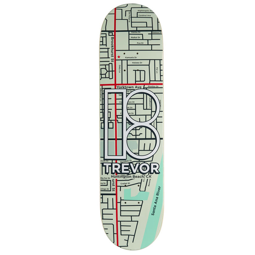 Plan B Skateboards Trevor McClung Neighbors Skateboard Deck - 8.00