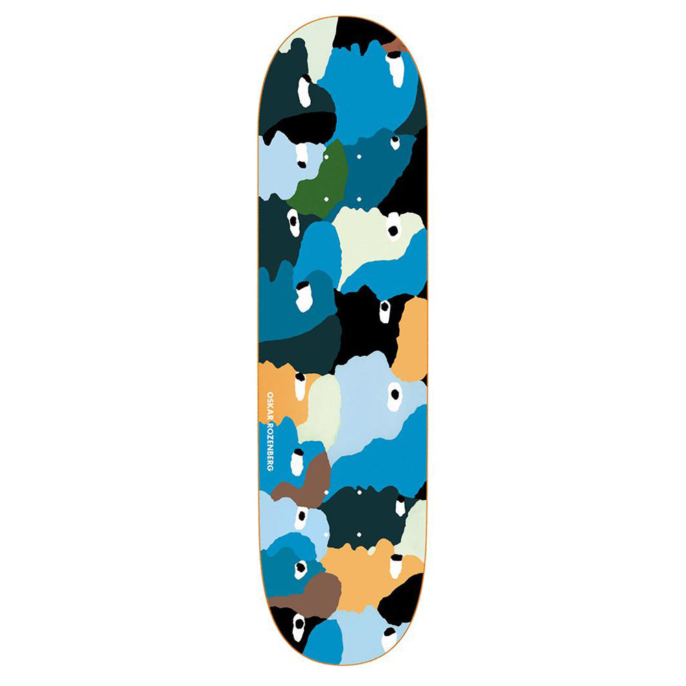Polar Skate Co Oskar Rozenberg Heads Skateboard Deck - 8.00