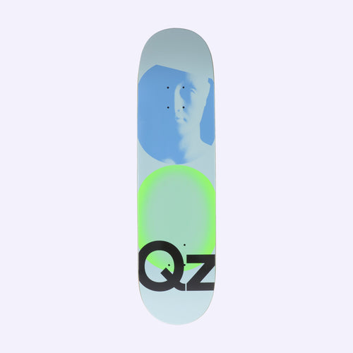 Quasi Skateboards QZ101 Skateboard Deck Blue - 8.25