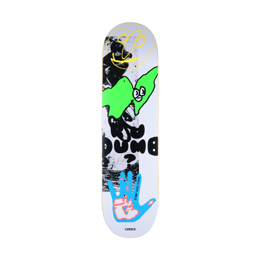 Quasi Dumb 1 Skateboard Deck - 8.625