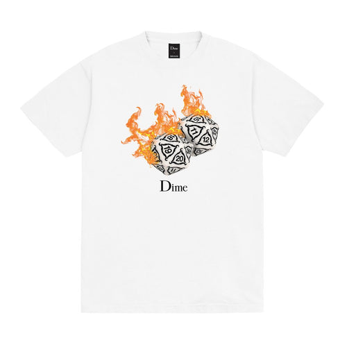 Dime MTL Re-Roll T-Shirt - White