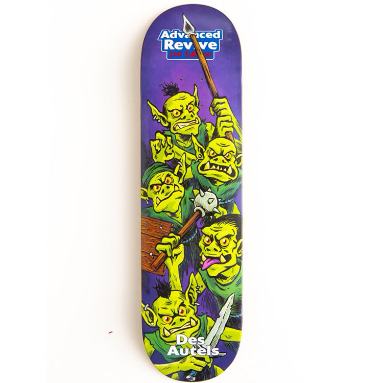 Revive Skateboards Des Autels Goblin Skateboard Deck - 8.00