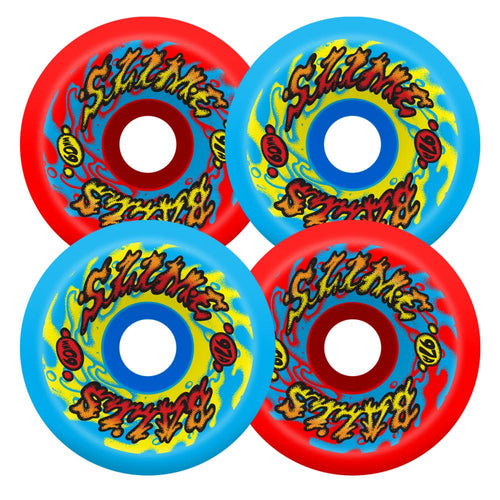 Santa Cruz Slime Balls Goooberz Vomits 97A Wheels Red/Blue - 60mm