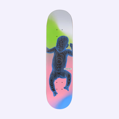 Quasi Skateboards Star Child Skateboard Deck Black - 8.375