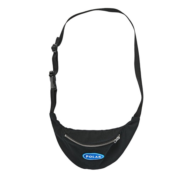Polar Skate Co. Station Logo Bum Bag - Black