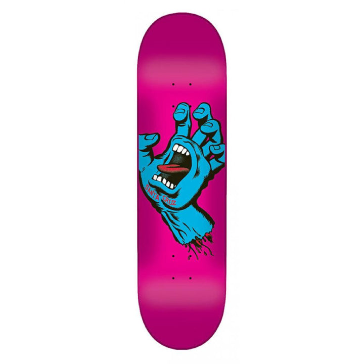 Santa Cruz Screaming Hand Skateboard Deck - 7.8
