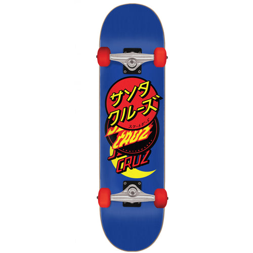 Santa Cruz Skateboard Complete Group Dot Blue - 8.25