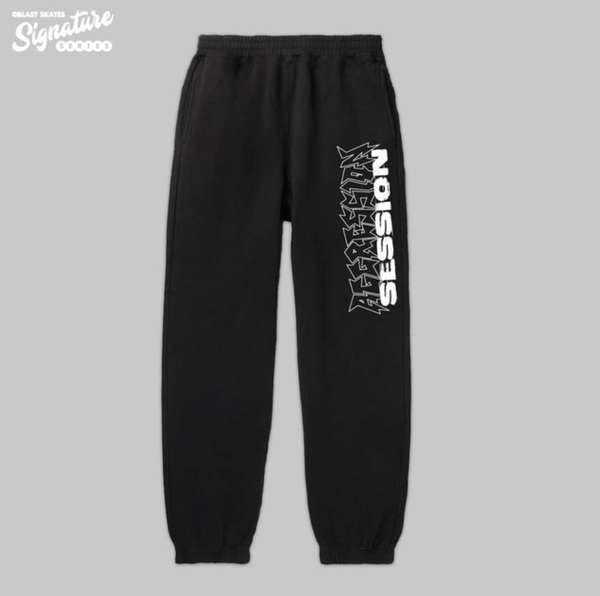 Blast Skates Jake Snelling Aggression Session Sweat Pant - Black