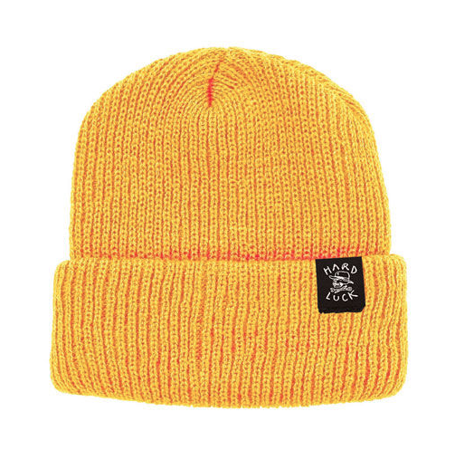 Hard Luck OG Beanie - Yellow