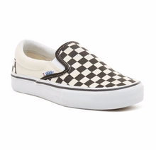 Vans Slip-On Pro Skateboarding Shoe - Checkerboard/Black/White