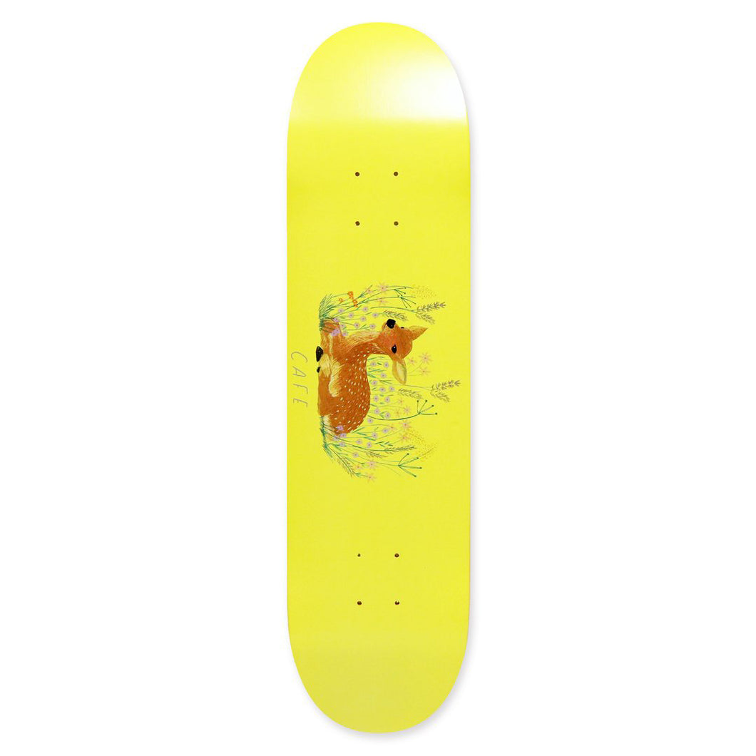 Skateboard Cafe Doe Banana Yellow Skateboard Deck - 8.25