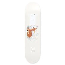 Skateboard Cafe Doe White Skateboard Deck - 8.00