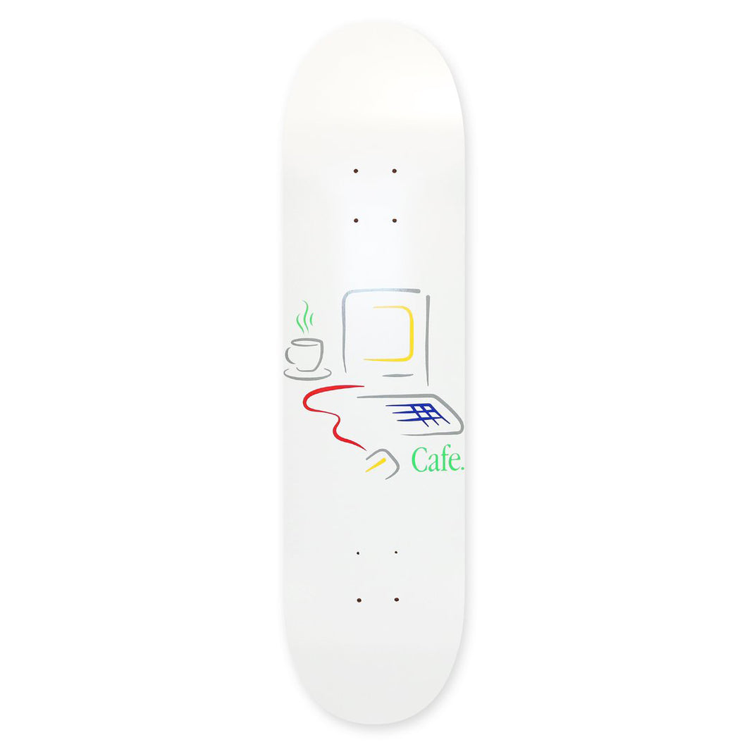 Skateboard Cafe Gerald Deck White Skateboard Deck - 8.5