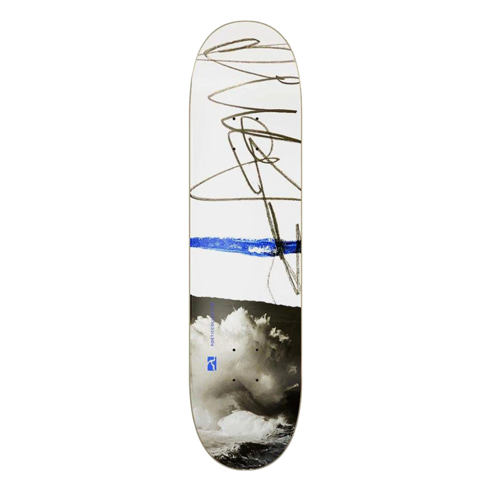Poetic Collective Sketch / Cloudy Skateboard Deck - 8.25