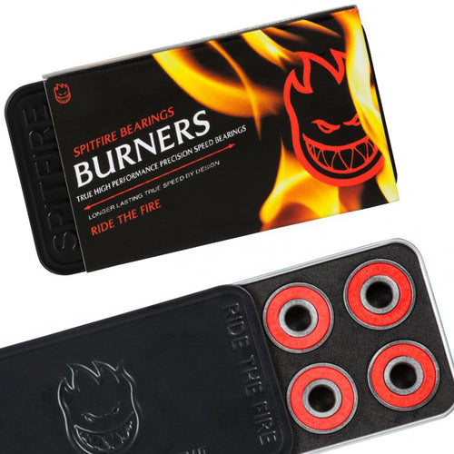 Spitfire Burner Red 8 MM Skateboard Bearings