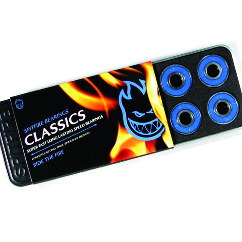 Spitfire Classic Blue 8 MM Skateboard Bearings