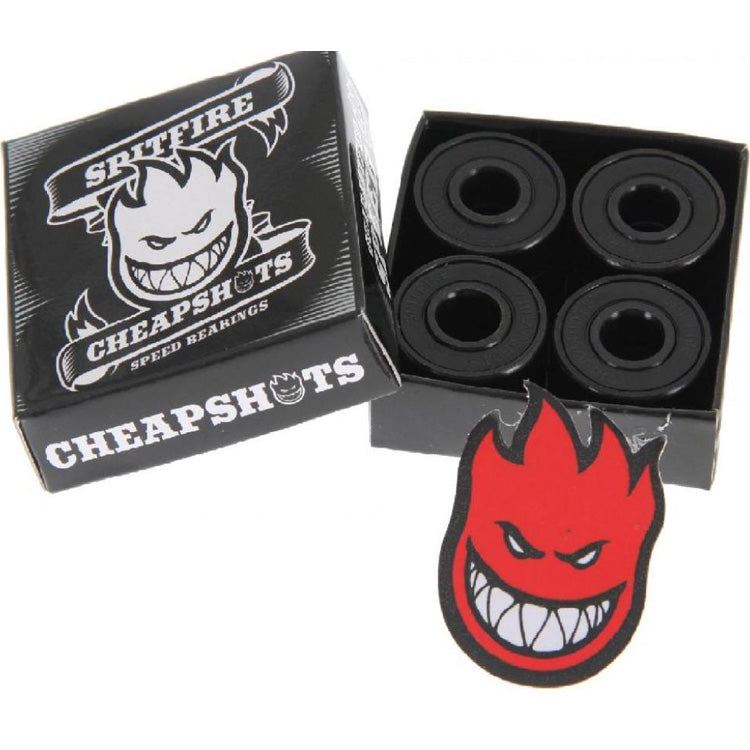 Spitfire Cheapshots 8 MM Skateboard Bearings