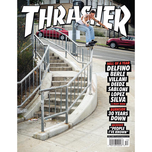 Thrasher Magazine December 2020 Issue