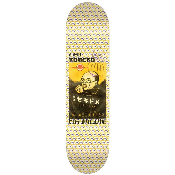 Toy Machine Leo Romero Nihon Skateboard Deck -8.25