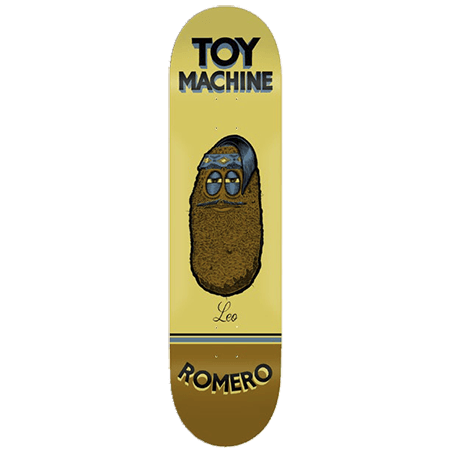 Toy Machine Leo Romero Pen N Ink Skateboard Deck - 8.38