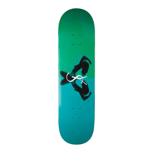 Yardsale Utopia Skateboard Deck (Emerald) - 8.5