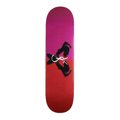 Yardsale Utopia Skateboard Deck (Ruby) - 8.3