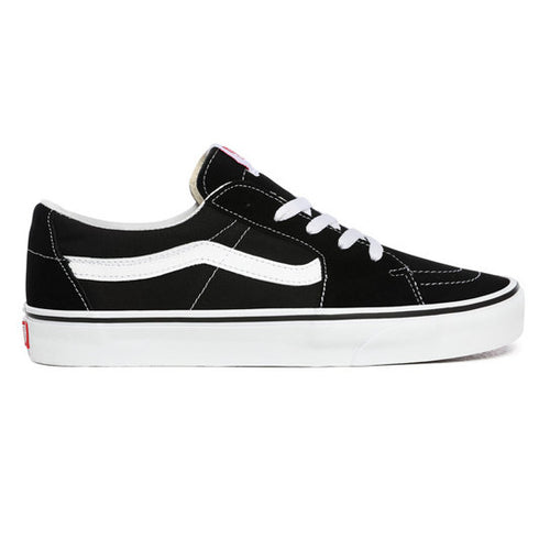 Vans Sk8-Low Skate Shoes - Black/True White