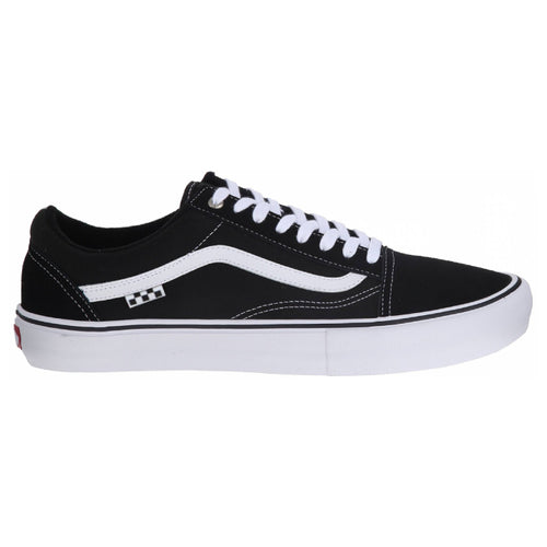 Vans Old Skool Pro Skateboarding Shoes - Black/White