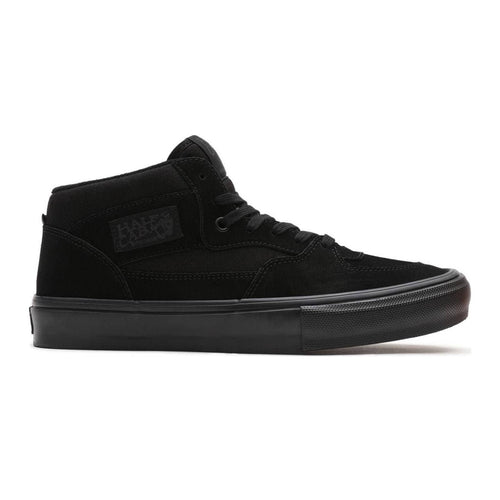 Vans Skate Half Cab Skateboarding Shoes - Black/Black