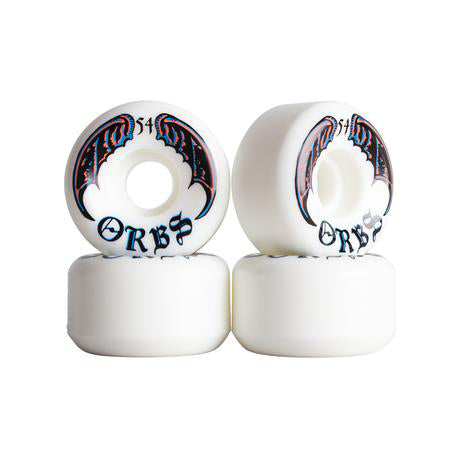 Welcome Skateboards Orbs Specters Wheels 54mm - White
