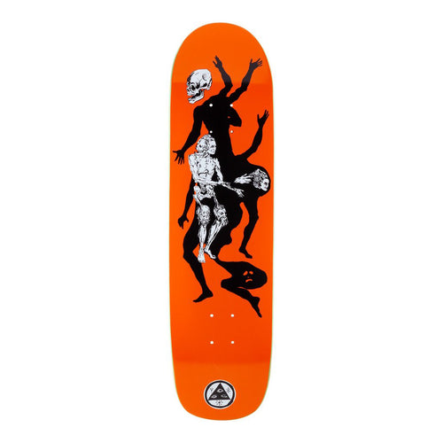 Welcome Skateboards The Magician on Son of Planchette Orange Skateboard Deck - 8.38