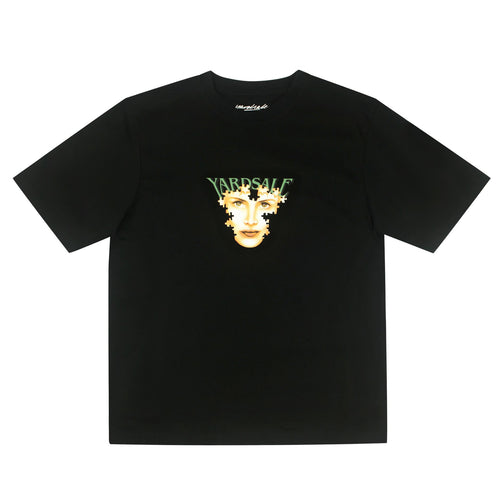 Yardsale Puzzle Tee Black