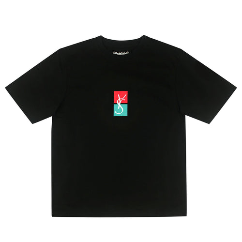 Yardsale YS Split Tee Black