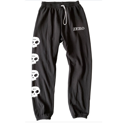 Zero Skateboards Multi Skull Sweatpants - Black