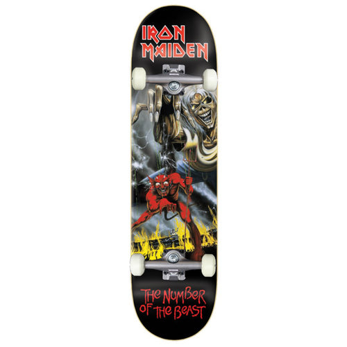 Zero Skateboards Number Of The Beast Complete Skateboard - 8.00