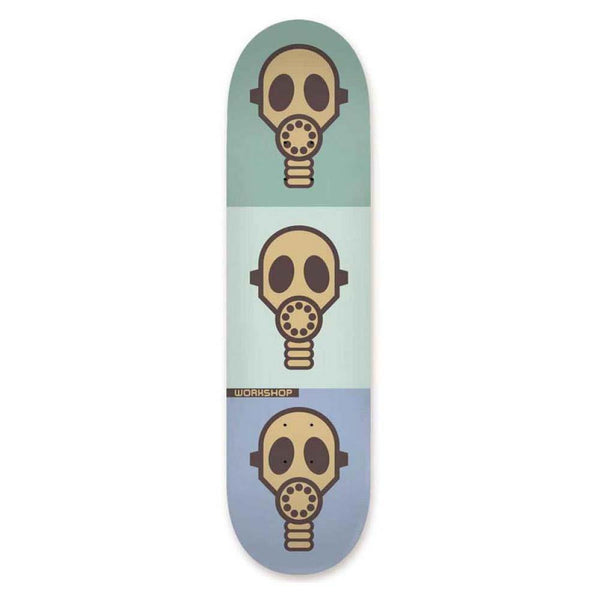 Alien Workshop Gas Mask Pastel Skateboard Deck - 8.5