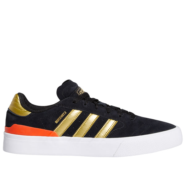 Adidas Skateboarding Busenitz Vulc II Shoes - Black/Gold/Red