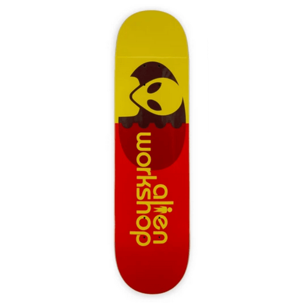 Alien Workshop Egg Orange Skateboard Deck - 8.375