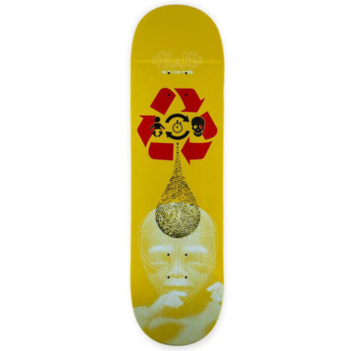 Alien Workshop Logo Star Reincarnate Skateboard Deck  - 8.5