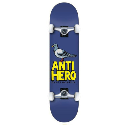 Anti Hero Pigeon Hero Complete Skateboard Blue - 8.00