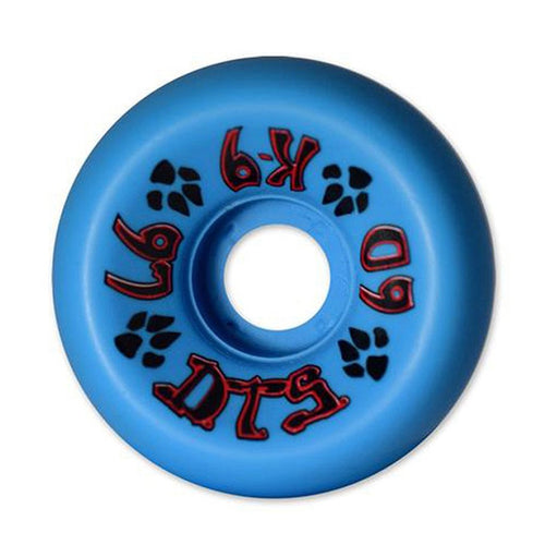 Dogtown K-9 Skateboard Wheels 60mm x 97a - Neon Blue