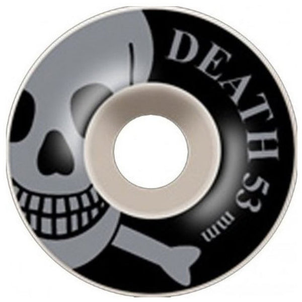 Death Skateboards OG Skull Skateboard Wheels Grey Skull - 53mm
