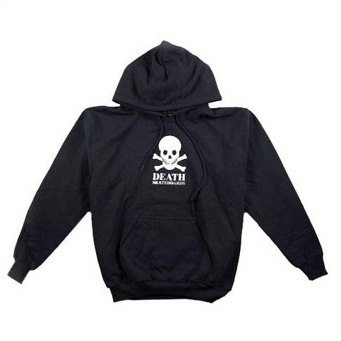 Death Skateboards Skull Logo Hoody - Black