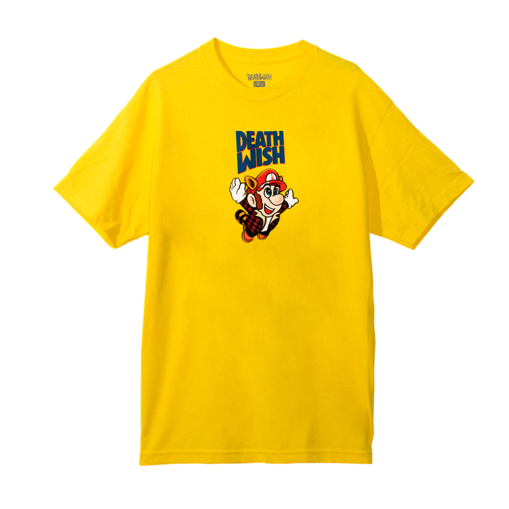 Deathwish Bros Tee Yellow