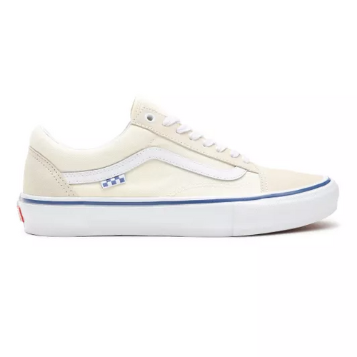 Vans Skate Old Skool Skateboarding Shoes - Off White