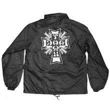 Dogtown Cross Logo Windbreaker - Black