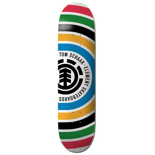 Element Skateboards Tom Schaar Rings Skateboard Deck - 8.00