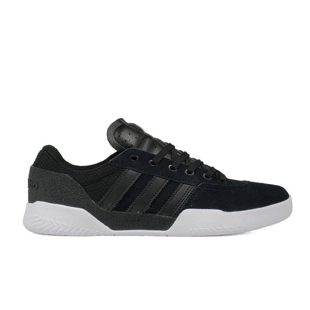 Adidas City Cup Skateboarding Shoe - Core Black/FTWR Black